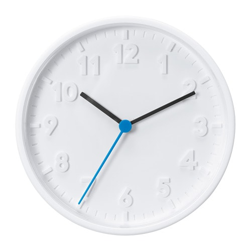 STOMMA - Đồng hồ 20cm/Wall clock, white