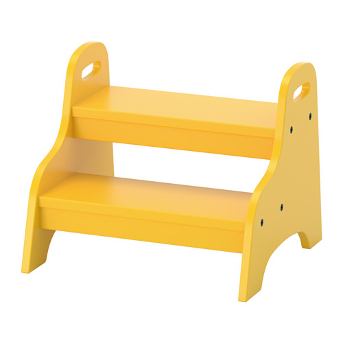 TROGEN - Ghế 2 tầng/Children's step stool, yellow